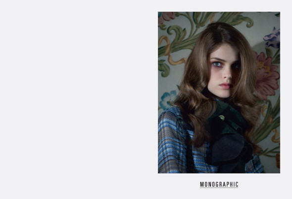 Съёмка: Юлия Занер в Fendi для Grey. Изображение № 1.