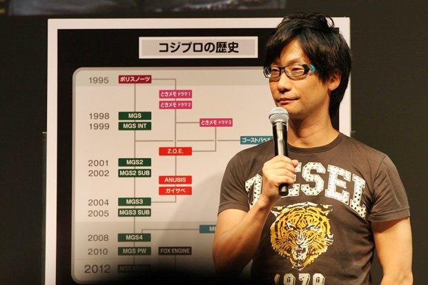 GameSpot: Хидэо Кодзима покинет Konami в этом году. Изображение № 1.