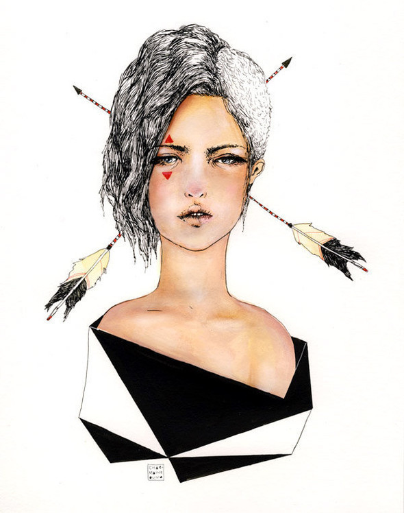 Иллюстрации Charmaine Olivia. Изображение № 23.