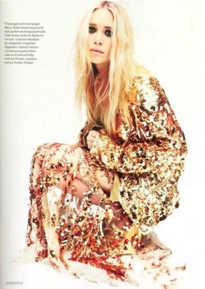Mary-Kate & Ashley Olsen for UK Elle April 2012. Изображение № 4.