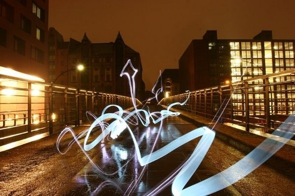 Да будет свет: 7 мастеров по световым граффити. Изображение № 5.