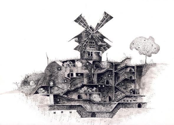 Архитектурная графика Андрея Орлова. Изображение № 10.