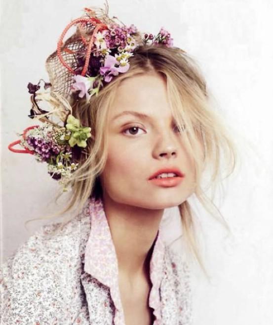 Цветы в волосах. Изображение № 13.