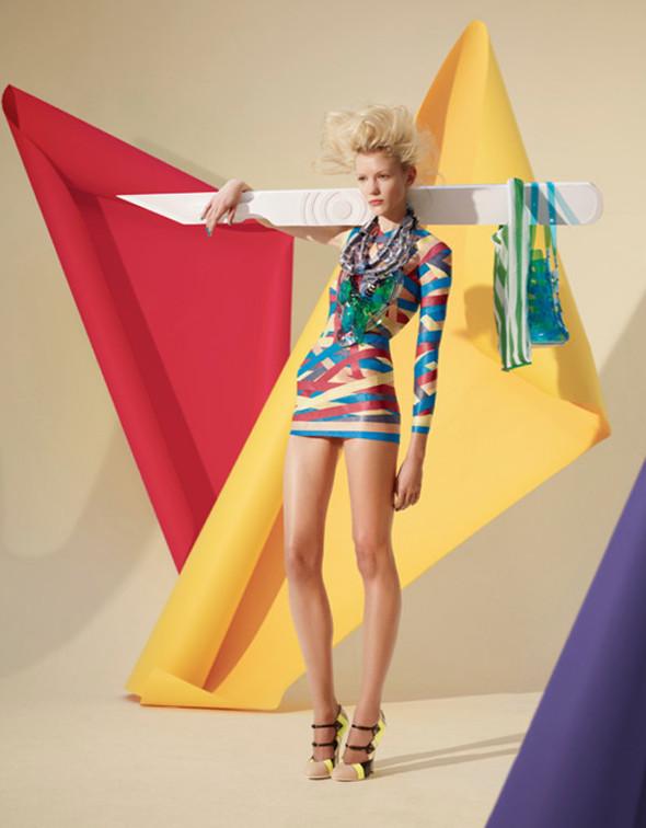 Платья из бумаги: Мэтью Броди для журнала Madame. Изображение № 4.