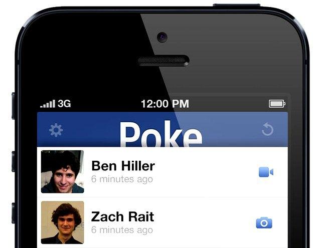 Главный экран приложения Poke. Изображение № 1.