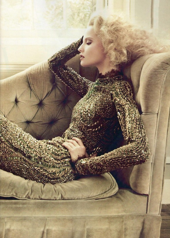 Съёмка: Магдалена Фрацковяк для мексиканского Vogue. Изображение № 7.