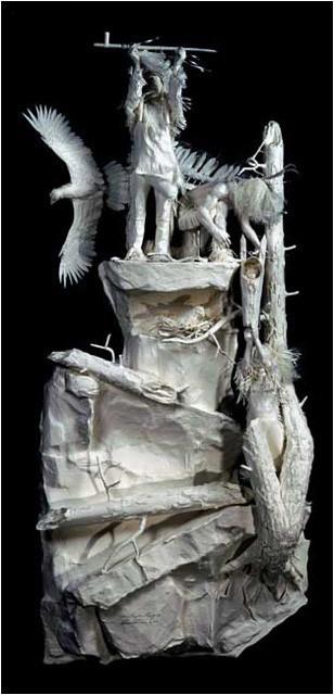 Бумажные скульптуры. Изображение № 45.