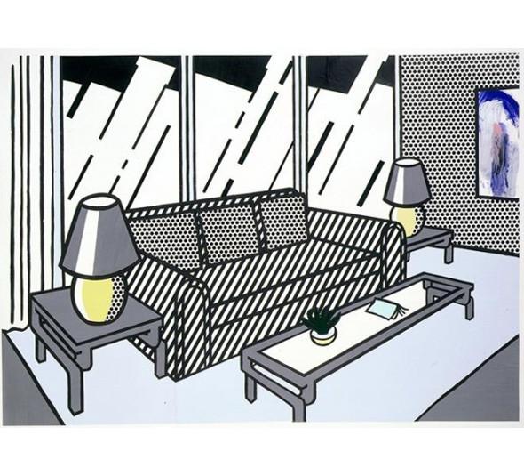 Найдено за неделю: Интерьеры Роя Лихтенштейна, неон-арт и граффити с гейшами. Изображение № 27.