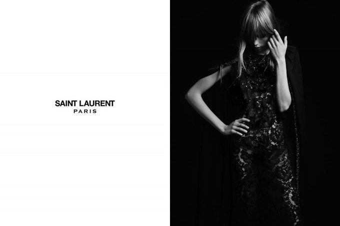 Бек и Эди Кэмпбелл снялись в кампании Saint Laurent. Изображение № 16.