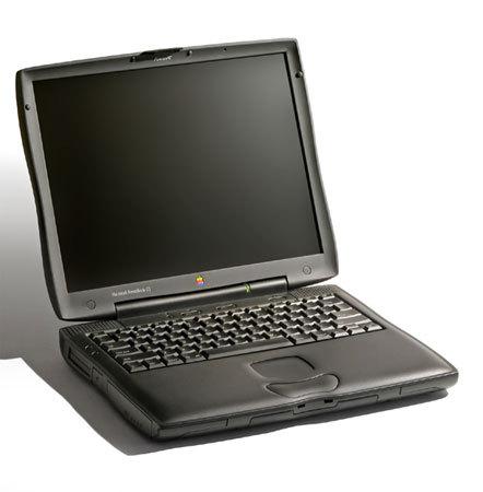 Эволюция дизайна ноутбуков apple 1989 – 2008. Изображение № 8.