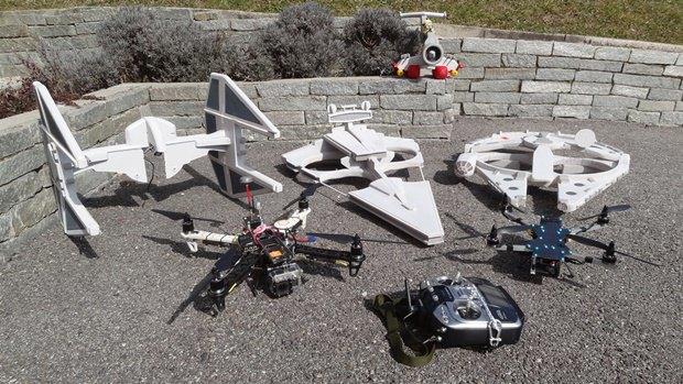 Энтузиаст собрал дрон в виде имперского крейсера. Изображение № 40.