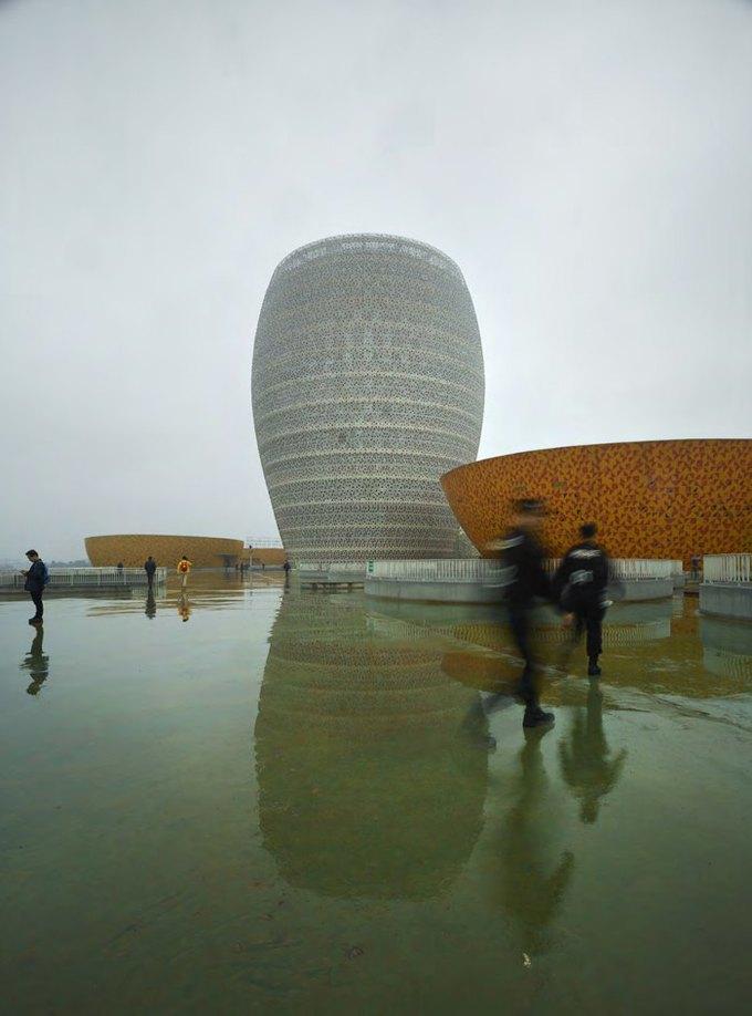 Архитектура дня: музей керамики со зданиями в форме чаш в Китае. Изображение № 5.