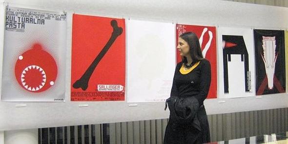 Малгожата Гуровска: плакат и не только. Изображение № 2.