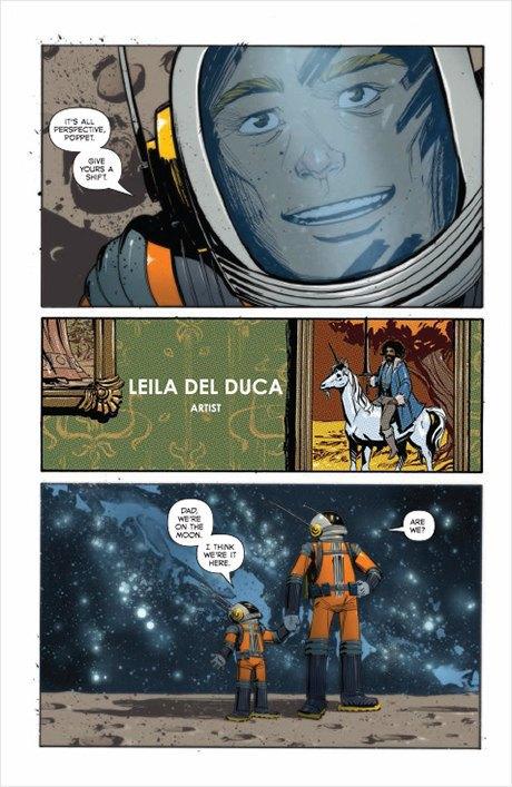 «Никаких зомби и супергероев»: Интервью с создателями комикса Shutter. Изображение № 8.