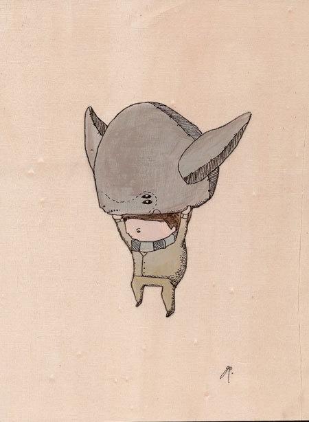 Карандаши какхолст. Изображение № 9.