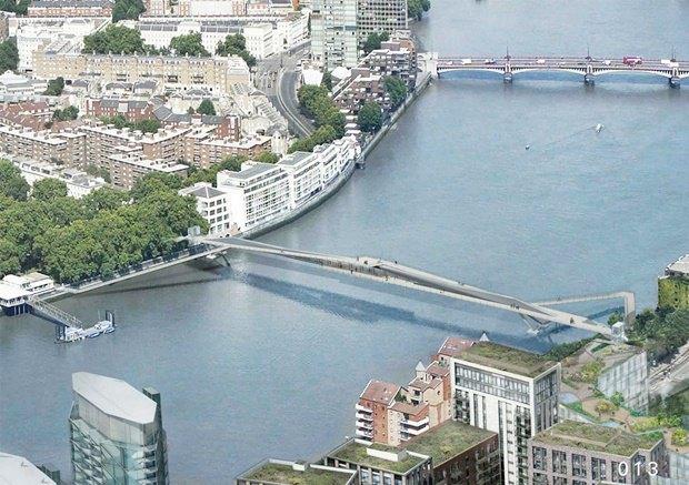 Выложены 74 проекта нового моста через Темзу. Изображение № 39.