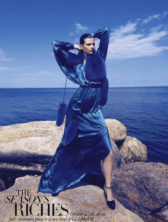 Съёмка: Бетте Франке для Harper's Bazaar. Изображение № 1.