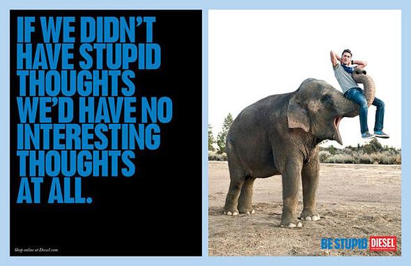 Кампания Be Stupid. Изображение № 11.