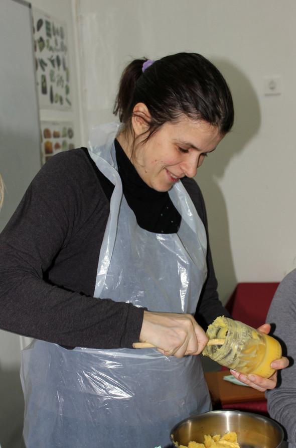 15 февраля прошел 1-й мастер-класс из цикла «Ведическик сладости». Изображение № 2.