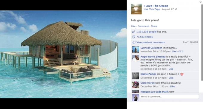 Названы самые популярные фото года в «Фейсбуке». Изображение №6.