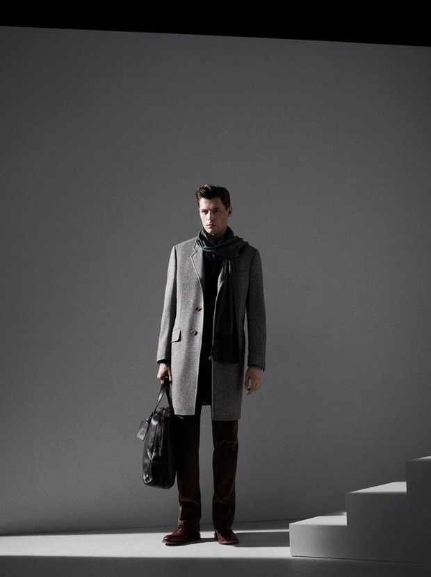 Alfred Dunhill lookbook casual wear Autumn Winter 2012. Изображение № 2.
