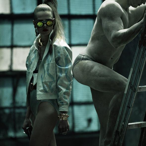 Быстрее, выше, сильнее: Модные съемки, вдохновленные спортом. Изображение №42.