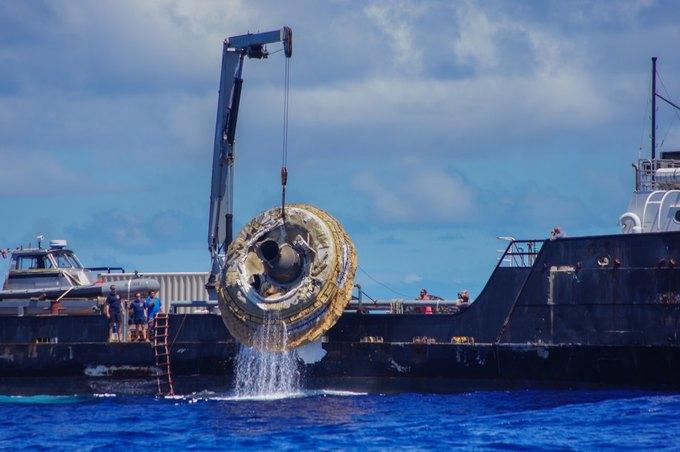 NASA провело успешные испытания замедляющей «летающей тарелки» . Изображение № 2.