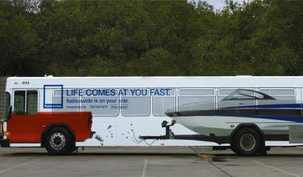 Необычная автобусная реклама. Изображение № 12.