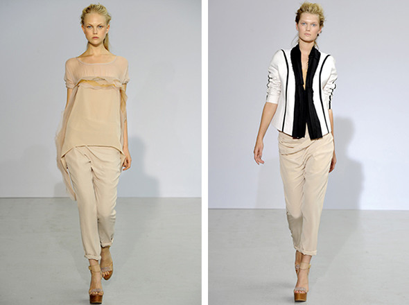 Неделя моды в Париже: первые показы. Изображение № 12.