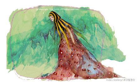 Kimmin ji– акварель видеальном исполнении. Изображение № 32.