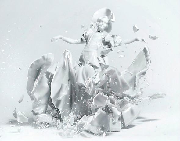 Когда разбитый фарфор становится искусством. Изображение № 1.