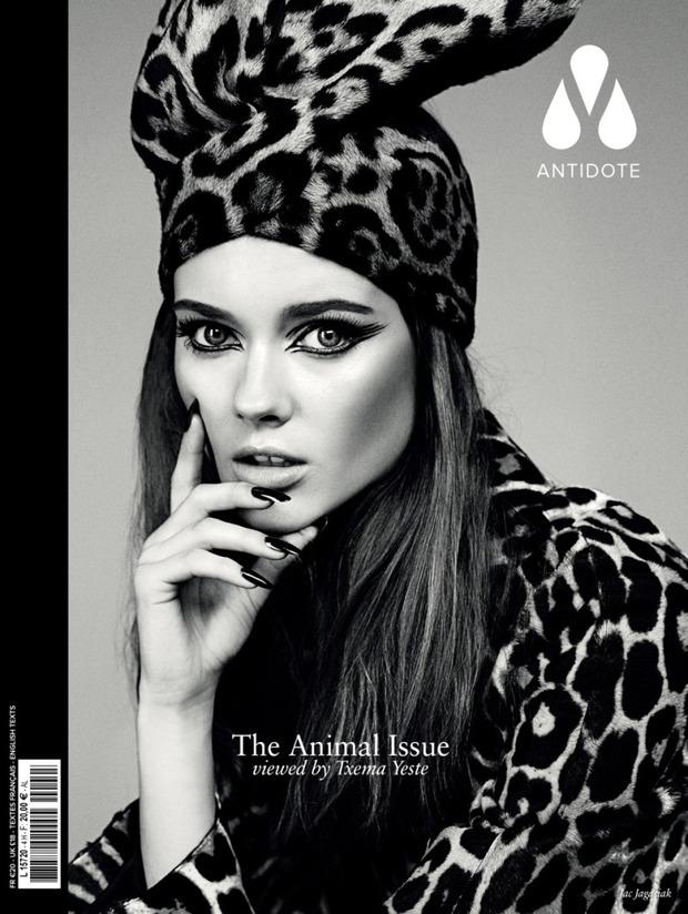 Вышли новые обложки Vogue, Numero, Interview и других журналов. Изображение № 2.