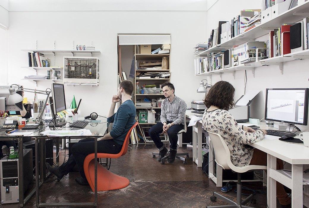 Экзотические птицы и старинные паркеты в архитектурном бюро «Практика». Изображение № 11.