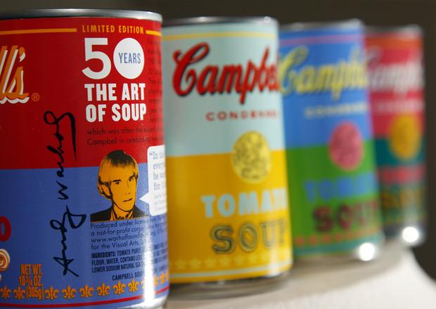 Campbell's выпустил лимитированную серию супов в честь Энди Уорхола. Изображение № 2.