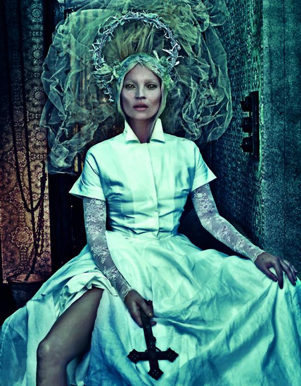 Kate Moss (КЕЙТ МОСС) для W Magazine. Изображение № 8.