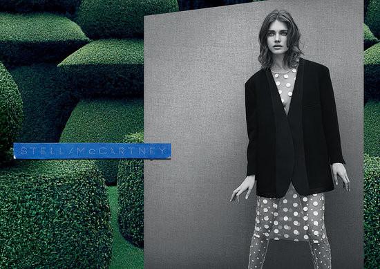 Кампания: Наталья Водянова для Stella McCartney FW 2011. Изображение № 6.