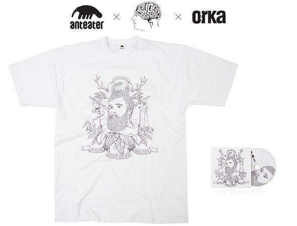 Изображение 1. Коллаборация Anteater, Drugoy Hip-Hop и Orka.. Изображение № 1.