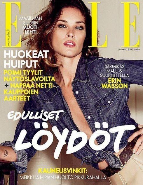 Обложки октября: Elle, Marie Claire, Interview и другие. Изображение № 1.