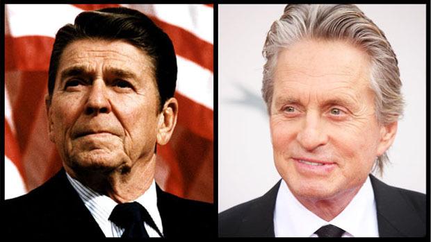 Слева —Рейган, справа —Дуглас. Ну так, на всякий случай.. Изображение № 1.