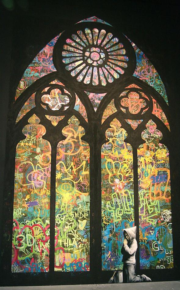 Большая коллекция уличного искусства. Изображение № 3.