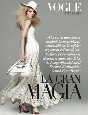 Vogue Mexico, март 2011, фотограф Дэвид Ромер. Изображение № 58.