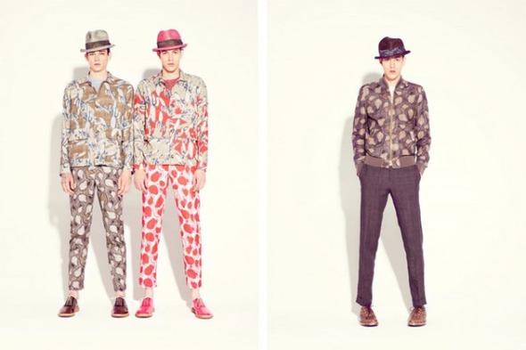 Новые мужские лукбуки Louis Vuitton, Marc Jacobs и Fred Perry. Изображение № 31.