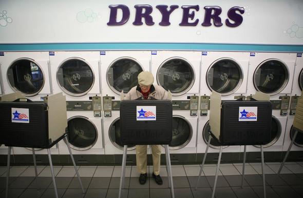 100 лет выборов в документальных фотографиях. Изображение № 140.