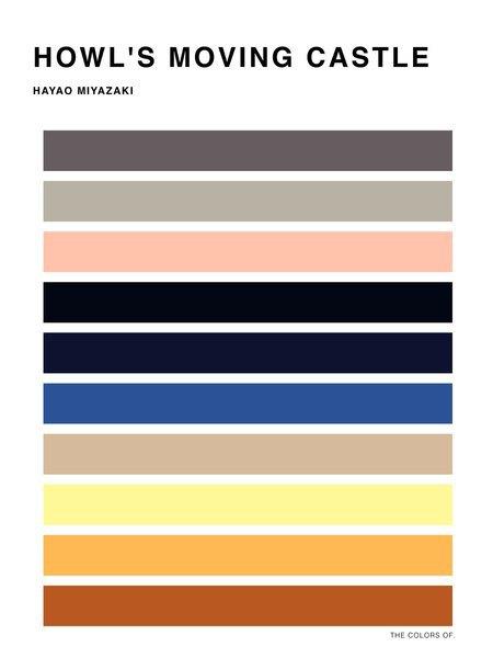 Дизайнер выбрал цвета из фильмов Миядзаки и Disney. Изображение № 8.