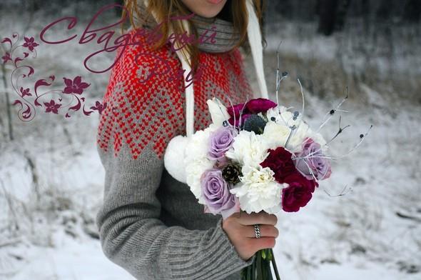 Цвет свадебного дня или праздник длиною в жизнь. Изображение № 1.
