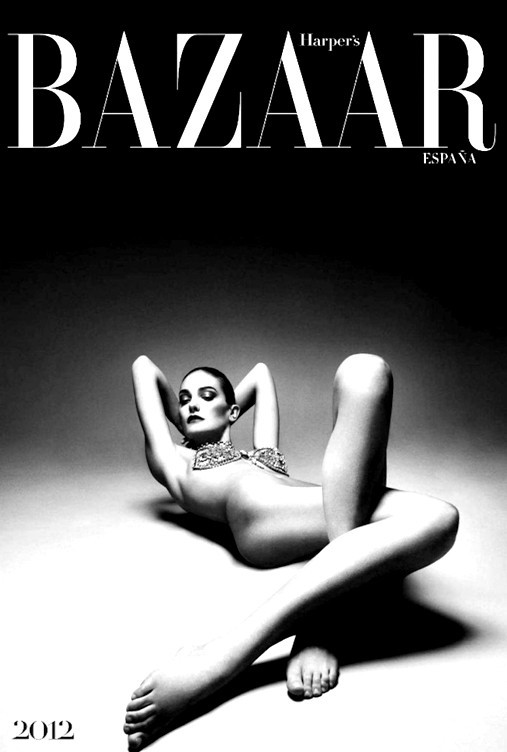 Календарь Harper's Bazaar Espana на 2012 год. Изображение № 1.