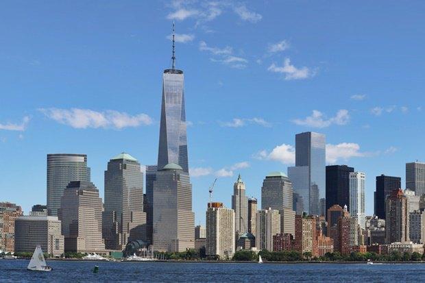 «Центр международной торговли 1» в Нью-Йорке (самый высокий). Изображение № 1.