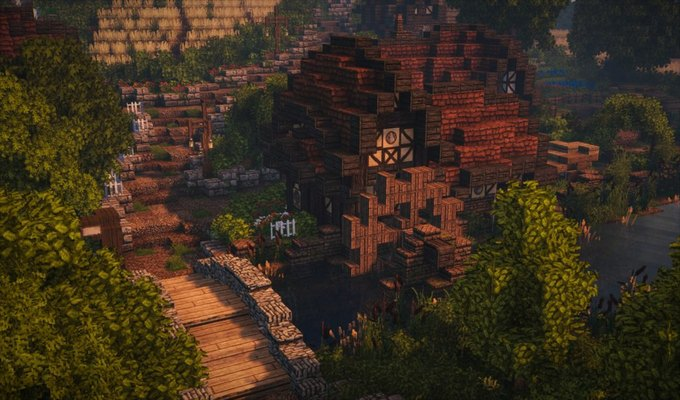 В Minecraft собрали Шир из «Властелина Колец» . Изображение № 8.
