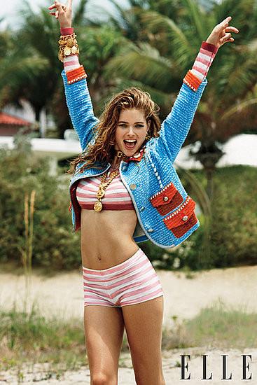 Четыре обложки американского Elle. Изображение № 7.