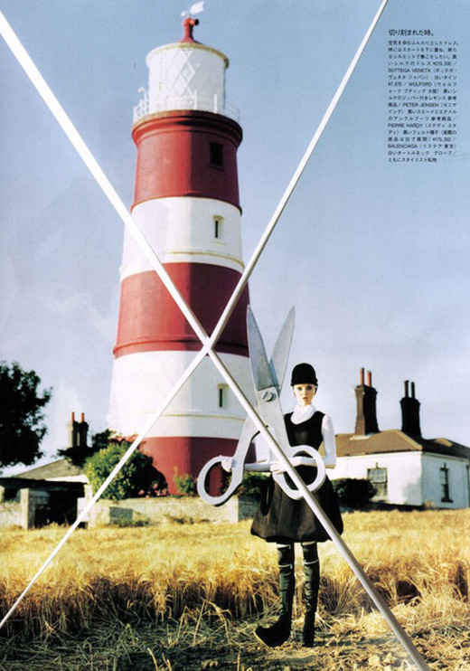 Lily Cole by Tim Walker. Изображение № 11.